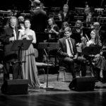 od lewej: Marek Bałata, Natalia Wilk, Łukasz Jemioła, Margo, Marcin Nałęcz-Niesiołowski, Polska Orkiestra Radiowa
